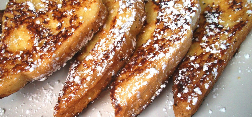 Cinnamon Ron French toast