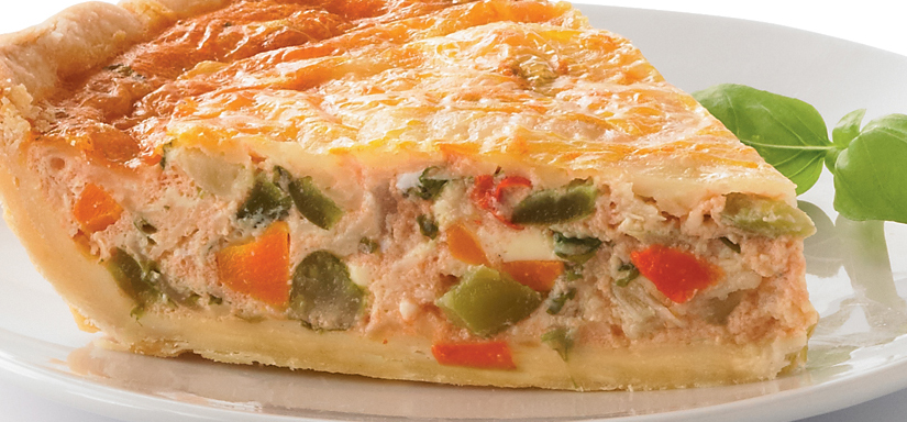 Chefs choice quiche
